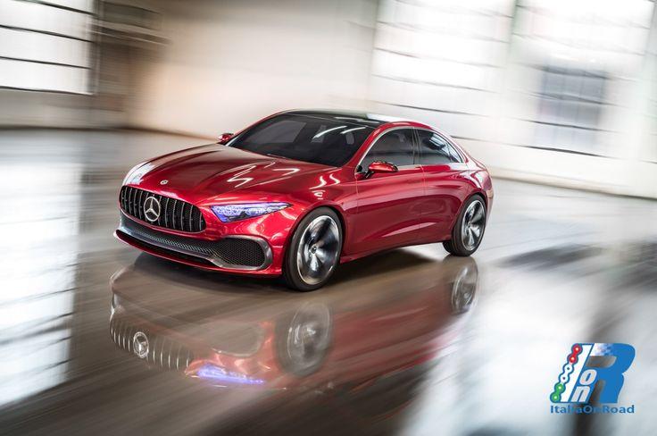 Mercedes-Benz Concept A Sedan http://www.italiaonroad.it/2017/04/22/mercedes-benz-concept-a-sedan/