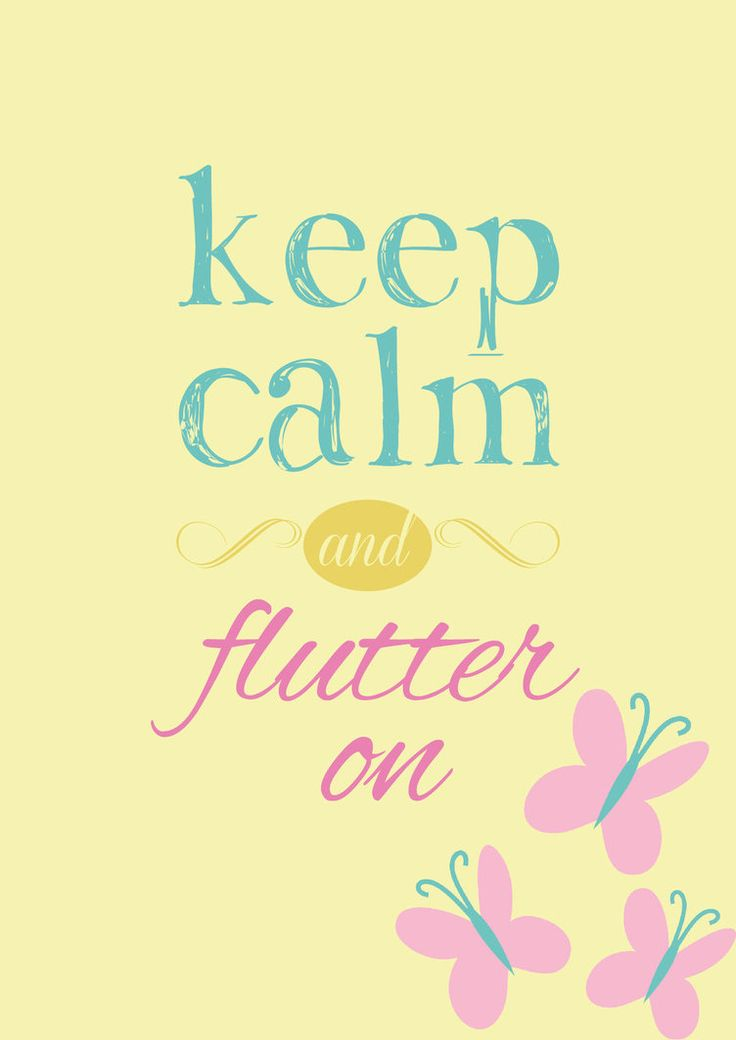 Keep Calm and... Flutter On! by VeryGood91 #Fluttershy