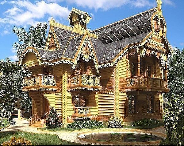 Russian house.