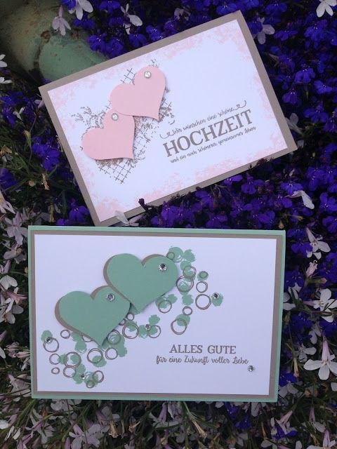 Stempellicht: Hochzeitskarten, schlicht, einfach und schnell gem...