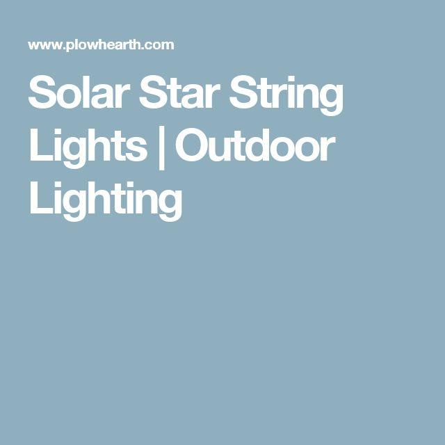 Solar Star String Lights | Outdoor Lighting