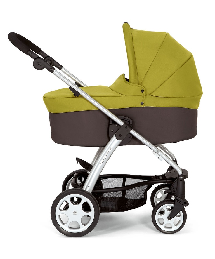 Sola pushchair from Mamas & Papas - The flexible, functional & fun pushchair Sola Carrycot - Lime Code: 103617400 £139.00