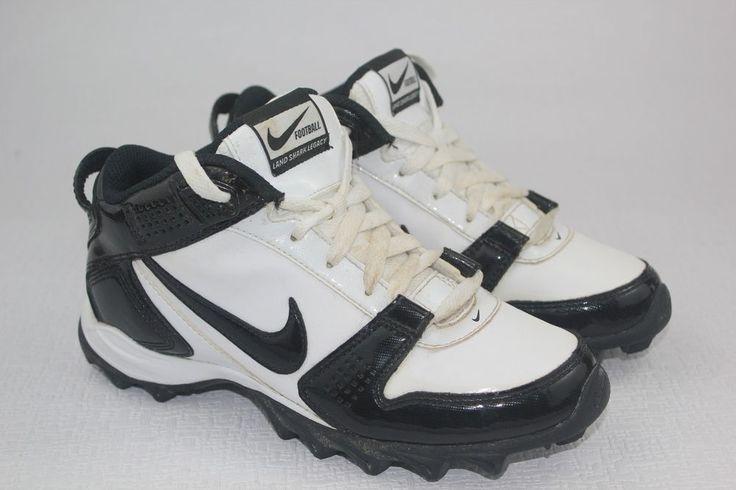 Nike 396232-101 Land Shark Legacy Mid Boy's Football Cleats Size Boys Size 3.5 Y #Nike