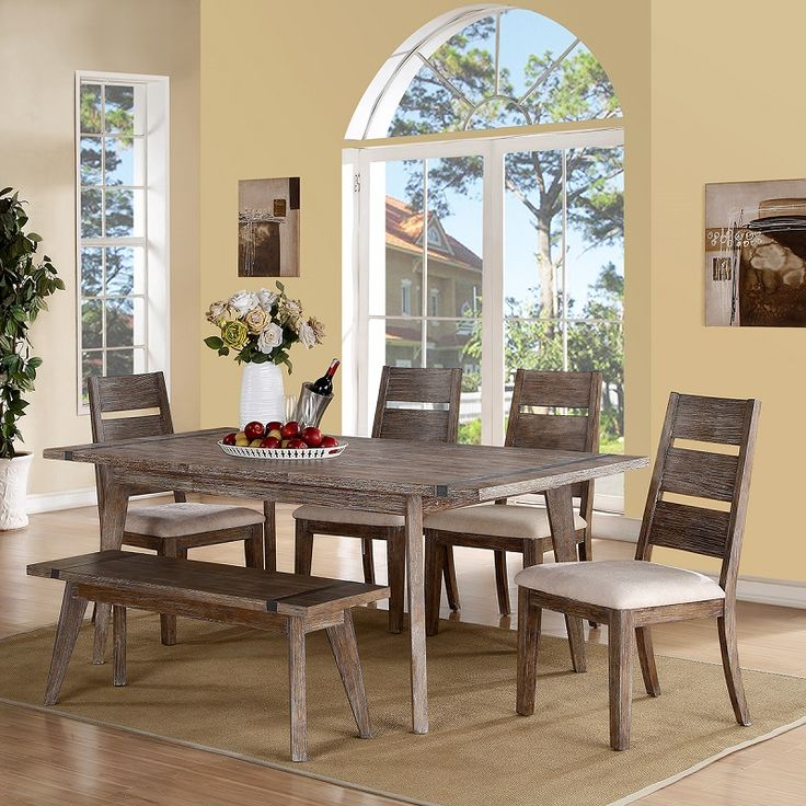 Some Days I Lean Towards A More Natural, Casual Design Like This Dining  Table! The Price Is Reasonable Too.