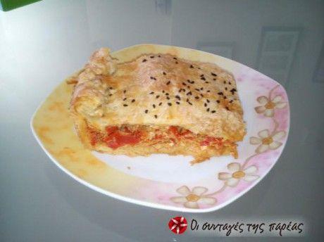 Πιπερόπιτα σπέσιαλ (με πιπεριές Φλωρίνης)
