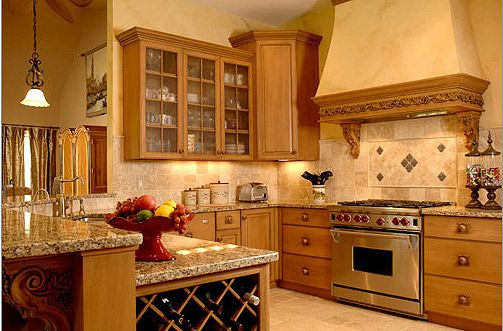 Tuscan Kitchen Flooring | ... Conquer (Your Kitchen Remodeling) with Old World Kitchen Design Ideas