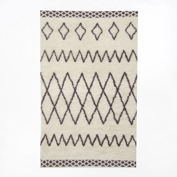 Kasbah Wool Rug   Ivory