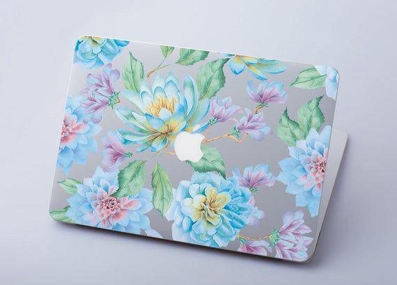 Clear MacBook Air 11 Decal Flowers MacBook Pro Retina 13 Keyboard Stickers Cover For MacBook 12 Natu