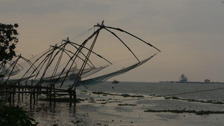 Fort Kochi # In Kerala # Fish Plats # Nature Palce