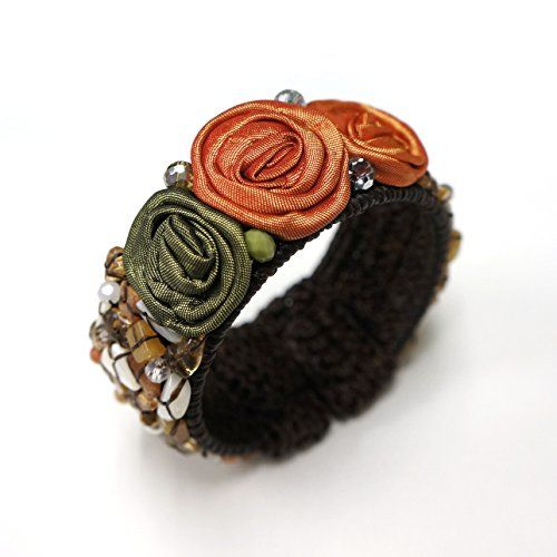 Orange Silk Flower Bangle for Girls & Women, Thai Bangles... https://www.amazon.com/dp/B06VW53P9J/ref=cm_sw_r_pi_dp_x_hyVPybC8Z8KFY