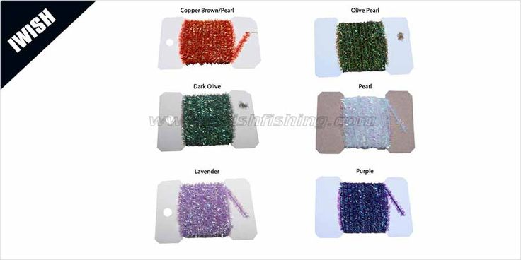 Cheap Fly Tying Supply Holographic Tinsel Chenille