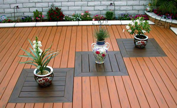 36 best back porch designs images on pinterest decks for Plastic garden decking