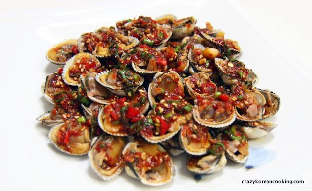 Best Authentic Seasoned Cockles, Kkomak-muchim Recipe   Korean Recipe