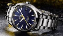 Our first look with live images and price of the new James Bond watch from Omega, the Omega Seamaster 300 Spectre Limited Edition.