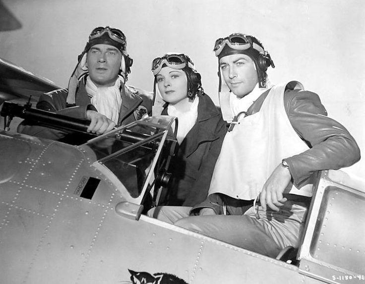 Walter Pidgeon, Ruth Hussey, Robert Taylor– Flight Command