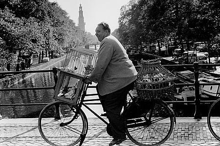 foto: Dolf Toussaint jaren 50 in Amsterdam