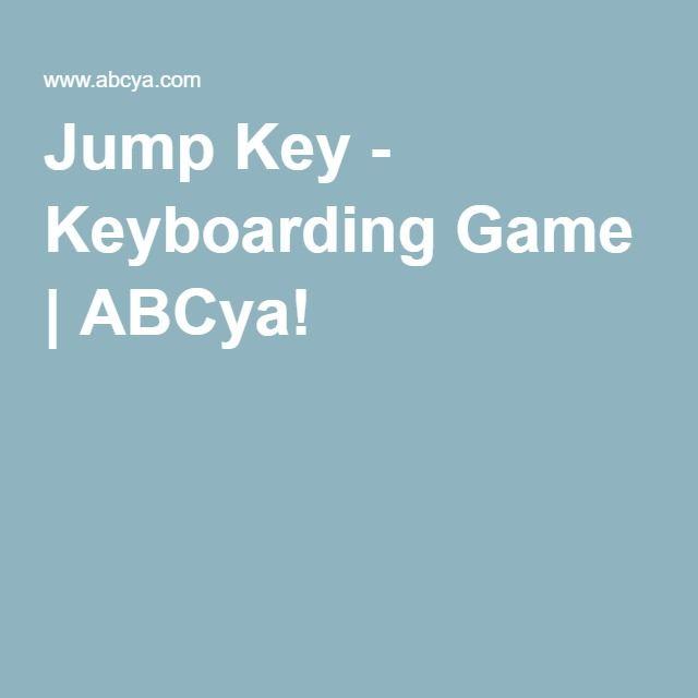 jump key keyboarding game abcya! abcya! - 640×640