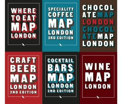 Complete Set of London Food and Drink Folding Maps