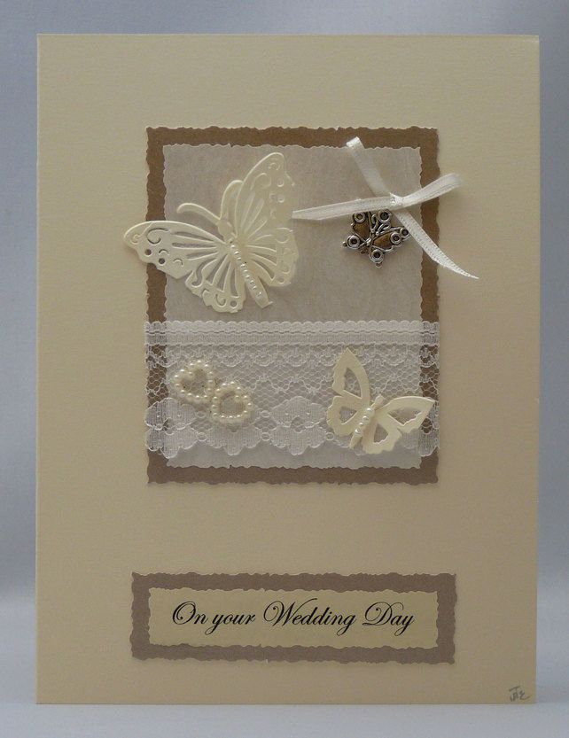 Handmade Card - Butterfly Love £3.50