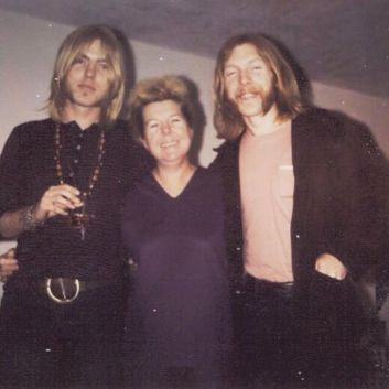 Gregg and Duane Allman's mother, Geraldine Alice Allman, passed away at the age of 98 on Friday July 24, 2015