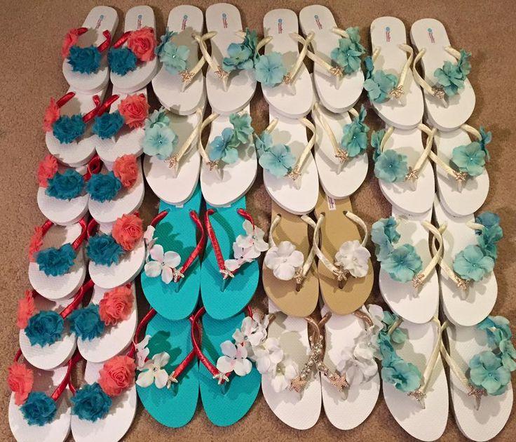 Custom flip flops by DreamingBabies www.dreamingbabies.etsy.com