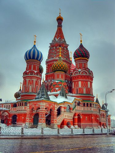 St. Basil's Cathedral #Russia