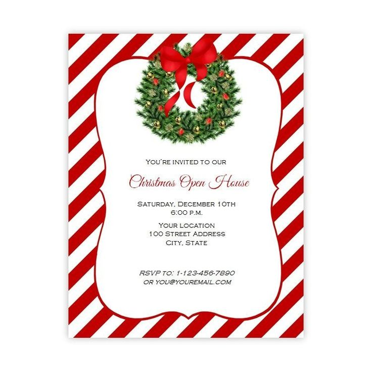 56 best Christmas Party Invitations images on Pinterest Flyers - christmas dinner invitations templates free
