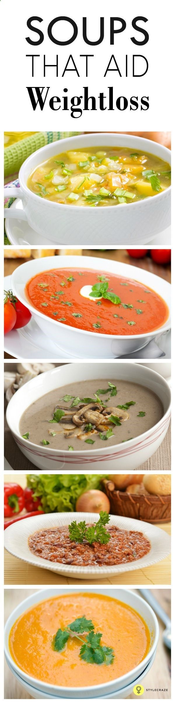 A lot of people toda A lot of people today focus on weight loss. One of the best ways is a liquid diet. Here are some soups for weight loss that will help you those few ... www.pinterest.com...