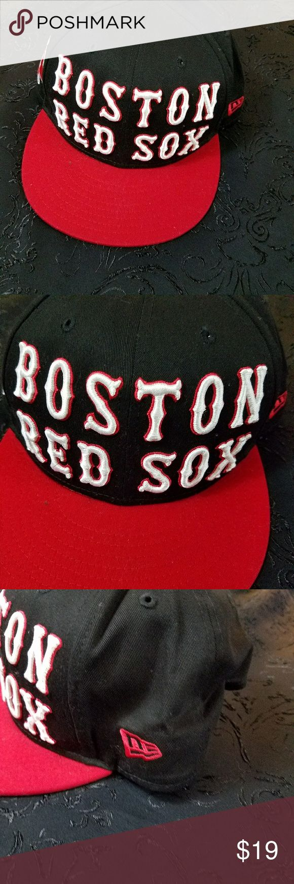 Boston Red Sox Baseball Cap Be ready for the game! One size fit most. Adjustable. New Era Accessories Hats