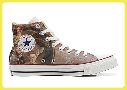Converse Customized - zapatos personalizados (Producto Artesano) Trendy Fantasy - TG46 tGCks4fycX