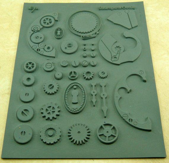 OUTTIE Lisa Pavelka Rubber Steampunk Watch von artisticrenderings