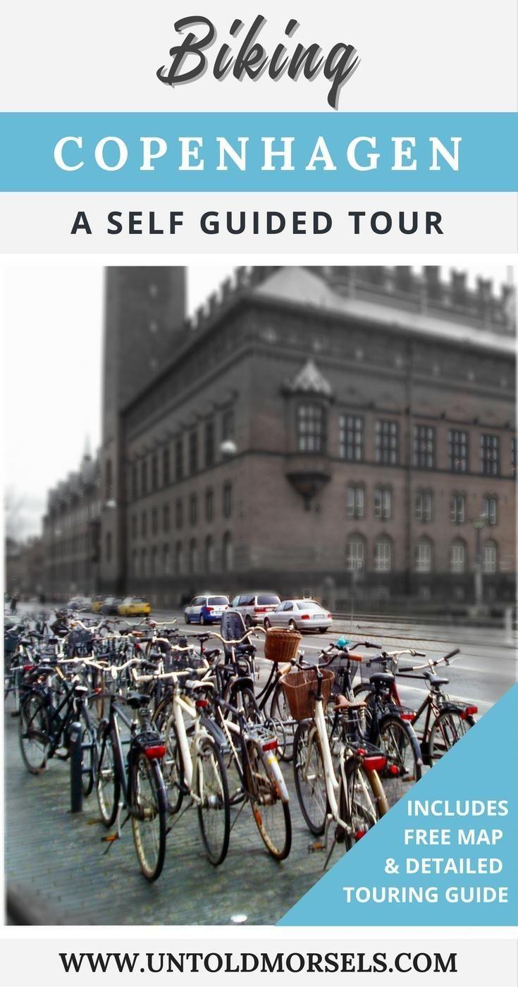 Copenhagen bike tour - rent a bike in Copenhagen and see the sights - Little Mermaid, Christiania, Rosenborg Castle,Nyhavn