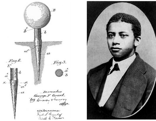 """George Franklin Grant (Sept. 15, 1846 – August 21, 1910) was the first African American professor at Harvard. He was also a Boston dentist, and inventor of a wooden """"golf tee"""". He was born in Oswego, New York to Phillis Pitt and Tudor Elandor Grant. He entered the Harvard School of Dental Medicine in 1868, and graduated in 1870. He then took a position in the department of mechanical dentistry in 1871, making him Harvard University's first African-American faculty member."""