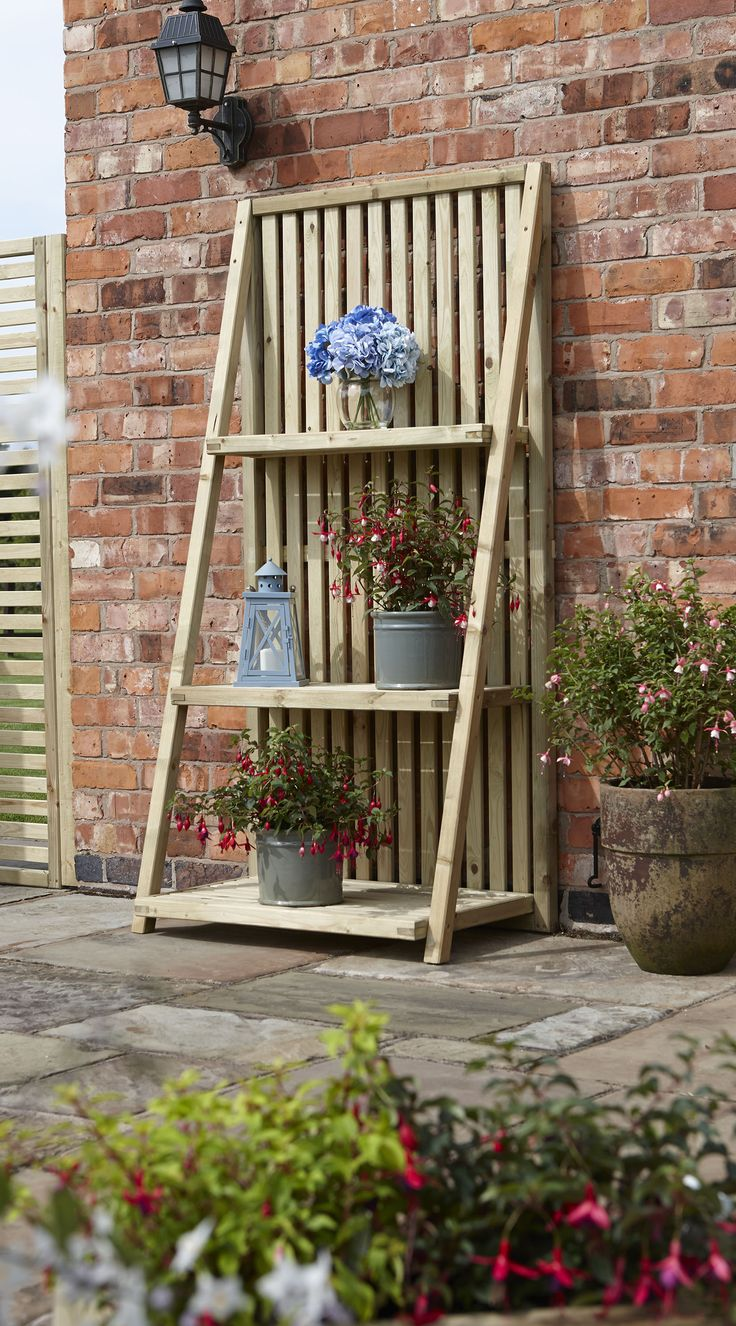 25+ best ideas about Outdoor Plant Stands on Pinterest | Hanging basket  stand, Diy yard decor and Gardening - 25+ Best Ideas About Outdoor Plant Stands On Pinterest Hanging