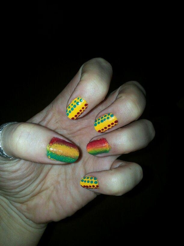 Nail art Jamaïque