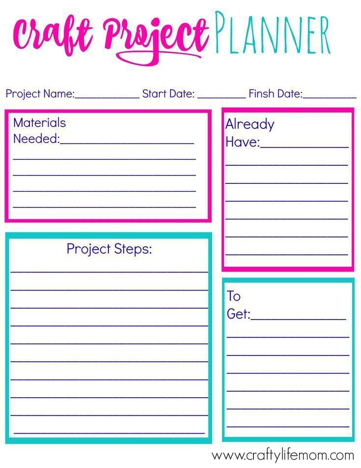 craft project planner digital marketing strategy pinterest