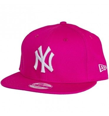 Hat NEW ERA Fashion Essential 950 New York Yankees Pink White 10917725 - EscapeShoes http://www.escapeshoes.com/en/36-caps