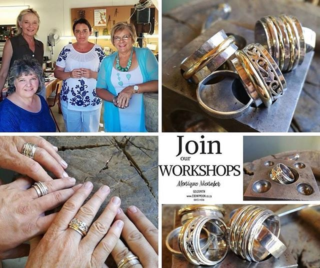 We have a selection of One Day Workshops ranging from beginner to advanced level. Enjoy step-by-step tuition from Monique in a fun and relaxed surrounding.  Our One Day Workshops are perfect as a one-off or alternatively as an introduction to a weekly class. We are very happy to take individuals or groups and they make for a stunning gift idea.  One Day Workshops are R550.00 including all tools and equipment and 10gms of Sterling Silver. Additional material costs are extra. Coffee tea and a…