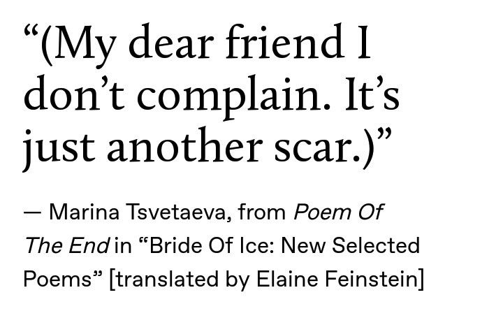 Marina Tsvetaeva From Poem Of The End In Bride Of Ice New Selected Poems Translated By Elaine Feinstein Poems More Words Writing Inspiration