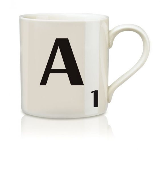 hardtofind. | Scrabble A-Z Mugs - Hard To Find Monochrome Style