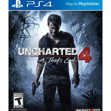Wal-Mart.com USA LLC -Sony Uncharted 4: A Thiefs End  Action/adventure Game  Playstation 4 (10007 2)