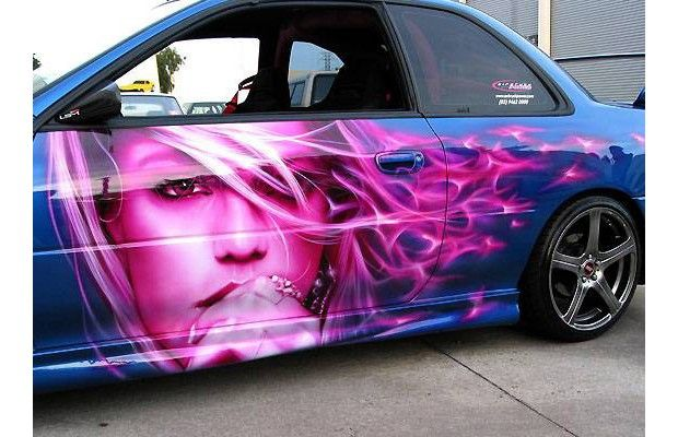 airbrush art | Tags: airbrush , art-cars