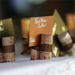 Cork projects: Placecard, Place Card Holders, Idea, Wine Corks, Diy'S, Place Cards, Escort Card, Corks Place Card, Corks Projects