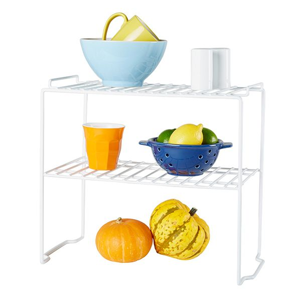 Store&Order | Stackable Pantry Shelf 2 Tier 56.5 x 45 x 49cm