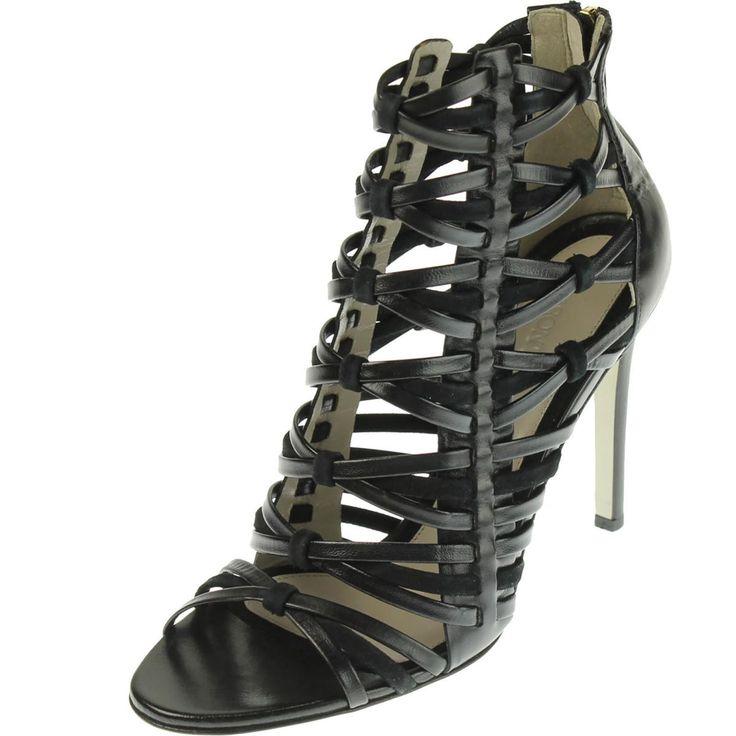 Jason Wu Womens Leather Gladiator Sandals