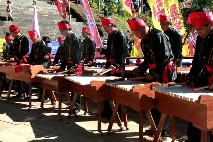 Traditional Music Kolintang Minahasa