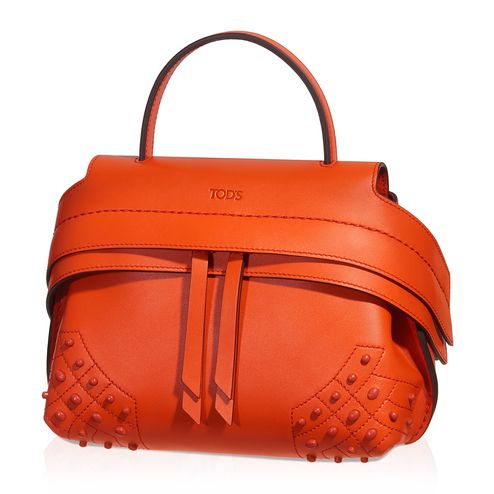 TOD'S Tod'S Micro Wave Bag. #tods #bags #shoulder bags #leather #lining