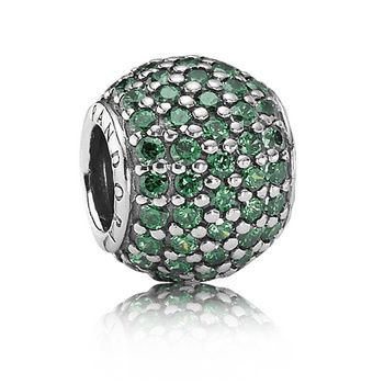 b5ae51163 ... 65 Pandora Dark Green Pave Lights Charm at the Packers Pro Shop http ...