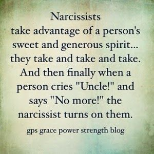 Side effects of hookup a narcissist