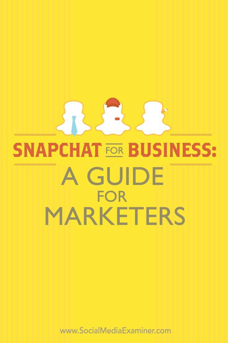 Have you heard of Snapchat?  Snapchat is a mobile app that lets you send public or private snaps of images and video to people from your smartphone.  In this article, you��ll discover how to use Snapchat��s features to connect with your customers. Via @smex